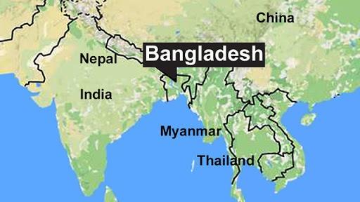 Bản đồ đất nước Bangladesh