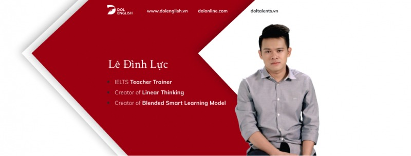 Anh Lê Đình Lực-người đã tạo ra Học Viện DOL English
