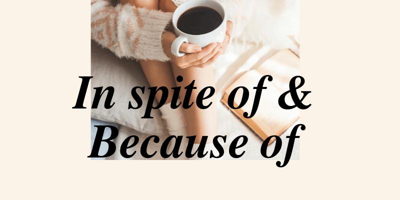 Cách dùng In spite of và Because of trong tiếng Anh – Bài tập