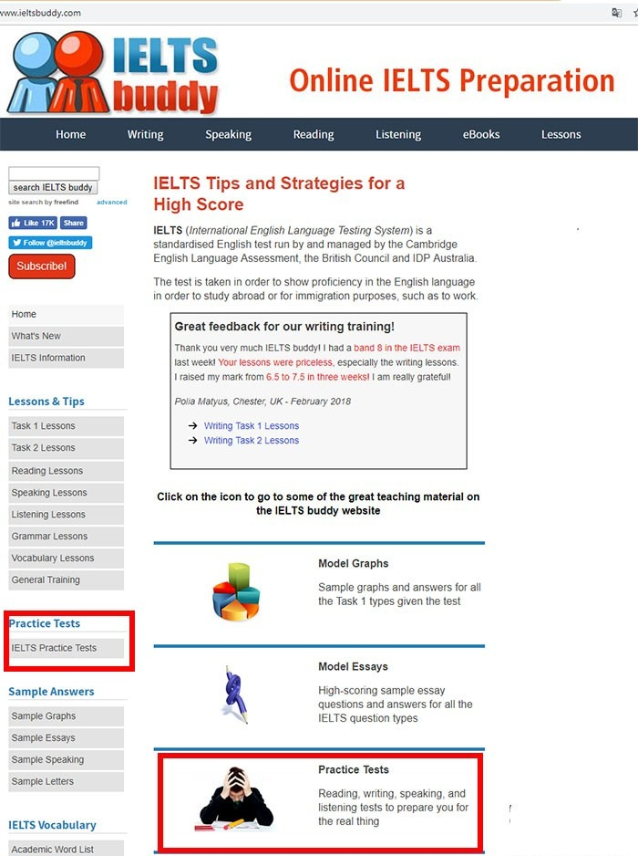Thiết kế đơn giản và dễ hiểu của trang web