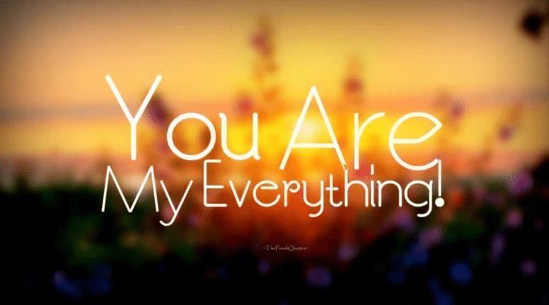 Bạn là tất cả những gì tôi có!
