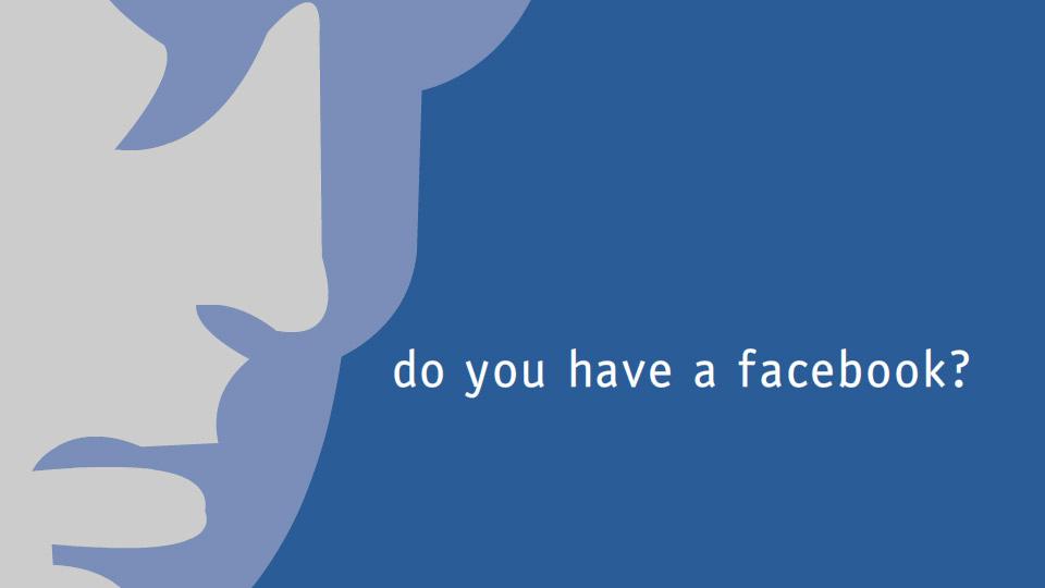 Bạn có xài facebook không?