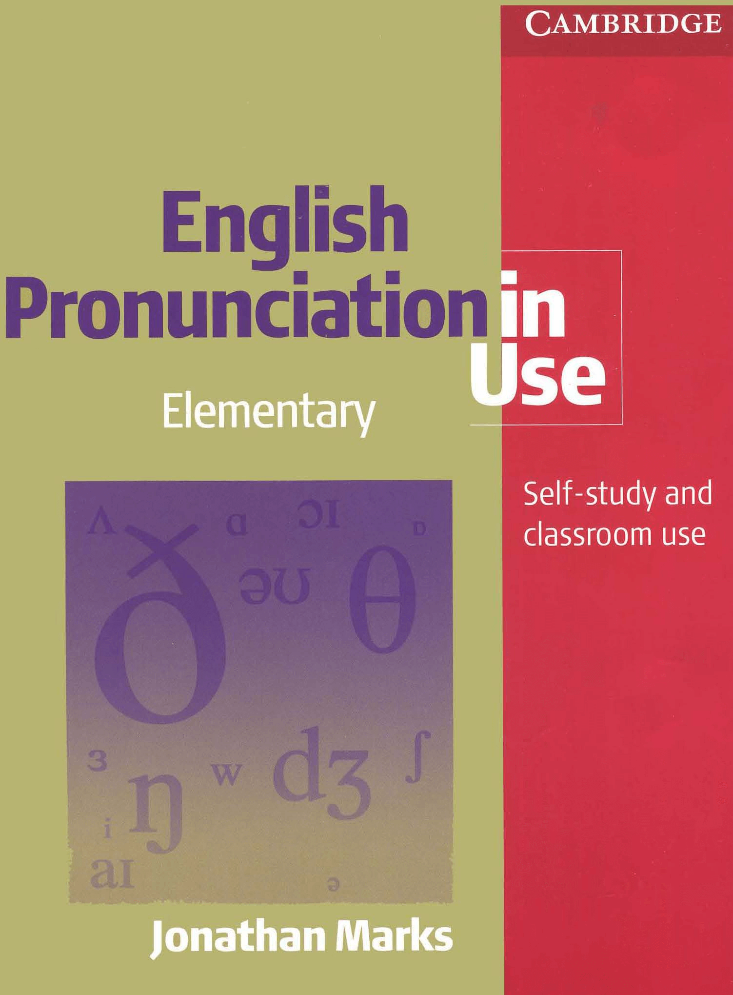 Tải sách English Pronunciation in Use Elementary PDF