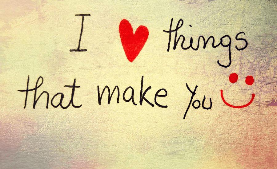 ILTTMYS- I love things that make you smile