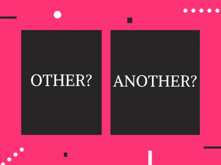 Phân biệt cách dùng Other với Another