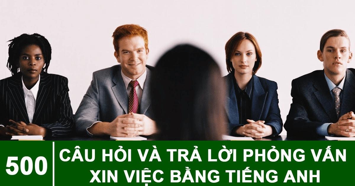 Tiếng Anh cho người đi phỏng vấn xin việc
