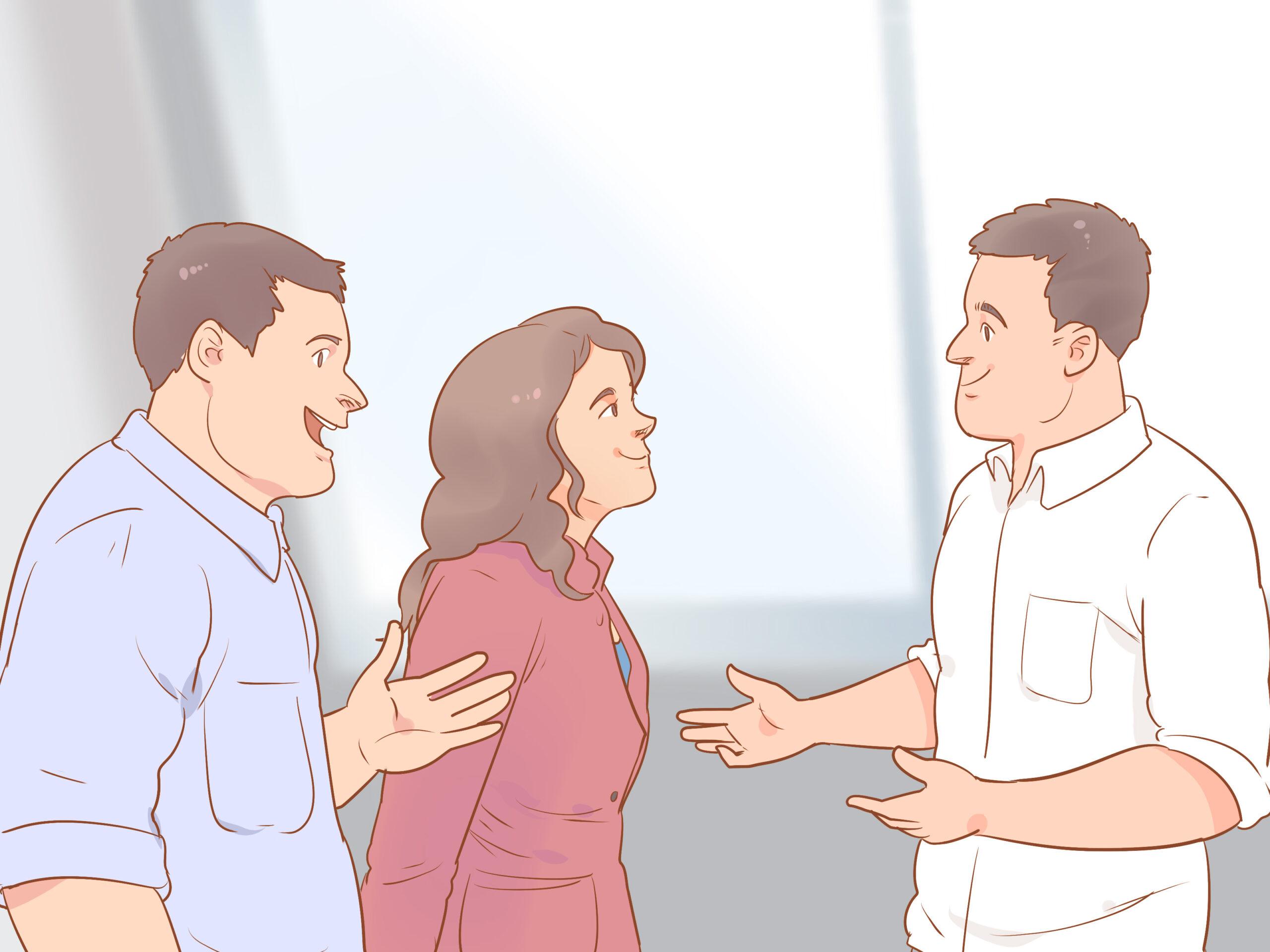 cuộc đối thoại giữa 3 người