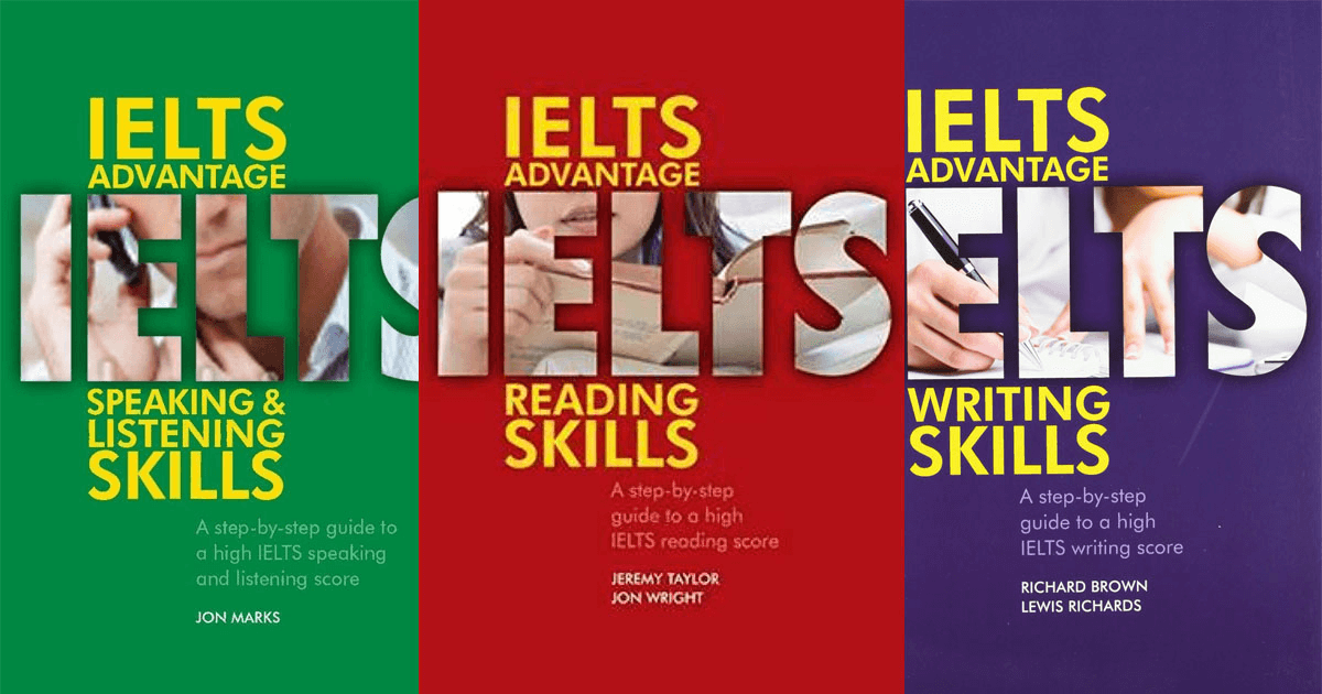 bộ sách IELTS advantage skills