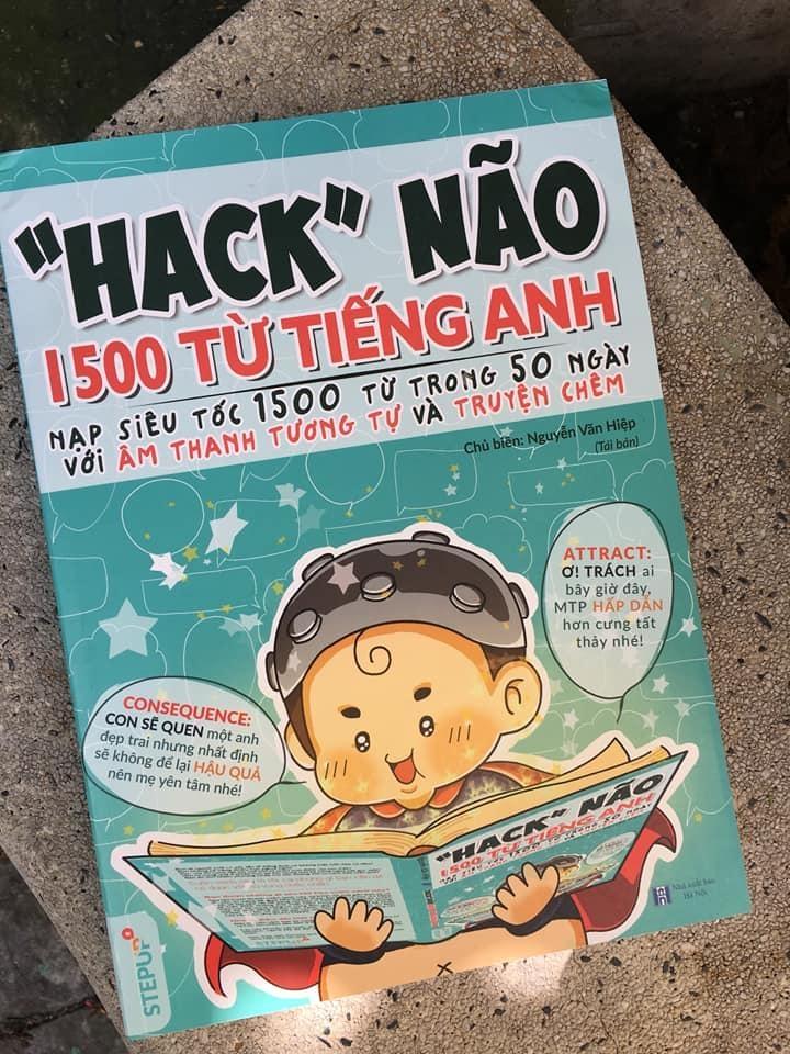 sách Hack não 1500 từ vựn tiếng anh