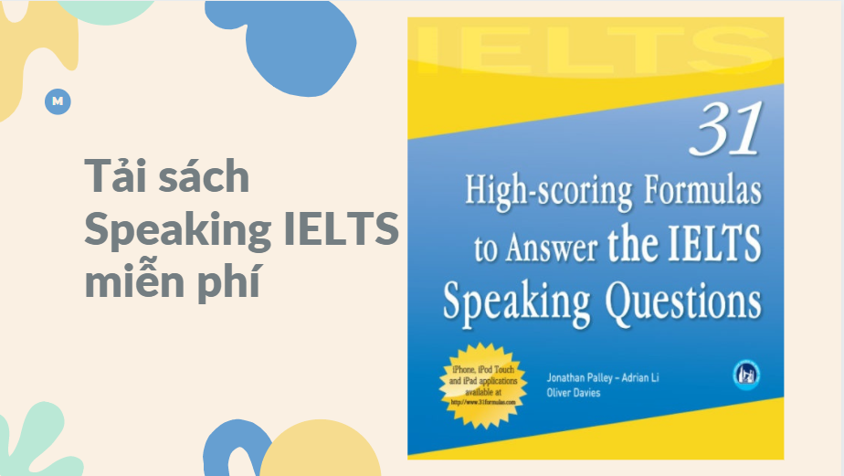 Tải Ebook 31 High scoring Formulas to Answer the IELTS Speaking Questions