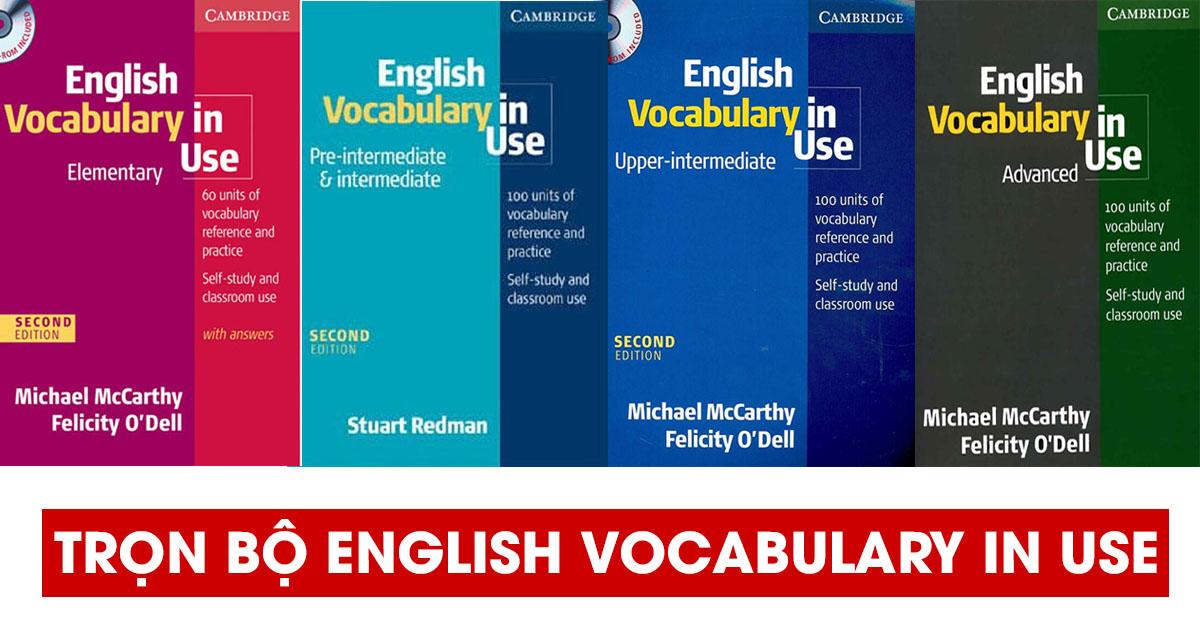 Tải trọn bộ English Vocabulary in Use PDF Audio miễn phí