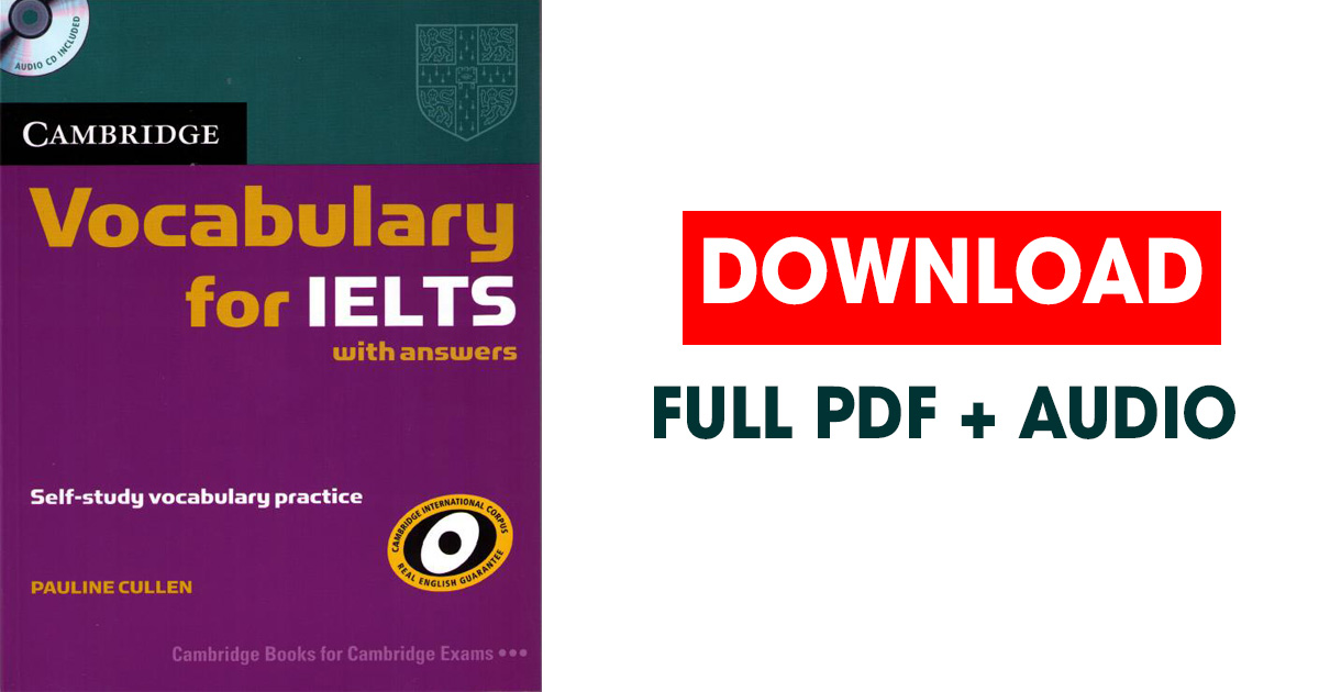 Tải trọn bộ sách Vocabulary for IELTS (PDF) - Review Ebook
