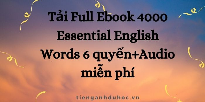 4000 essential words