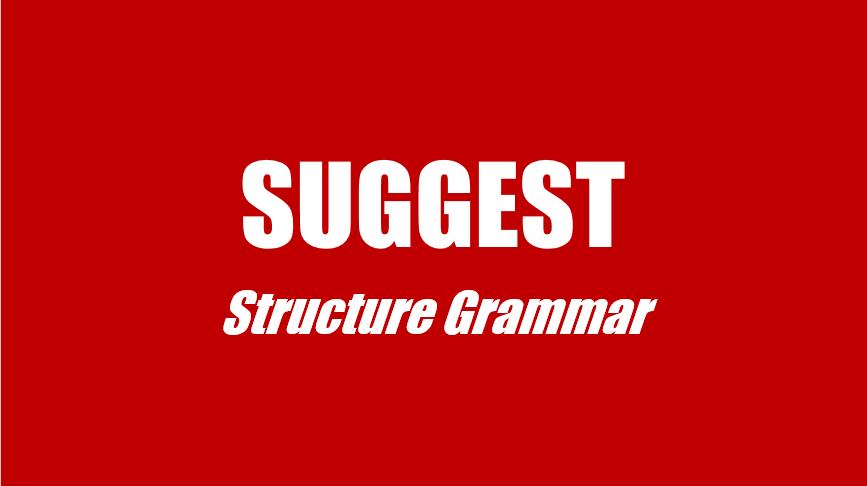Cấu trúc Suggest