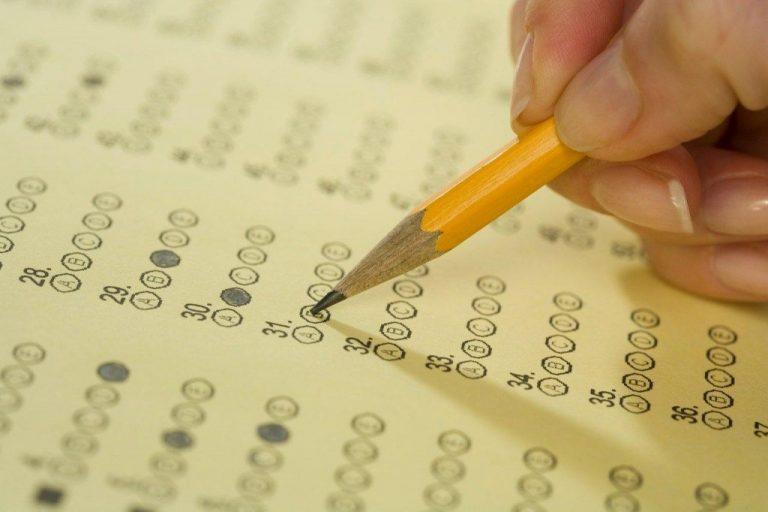 Tờ answer sheet