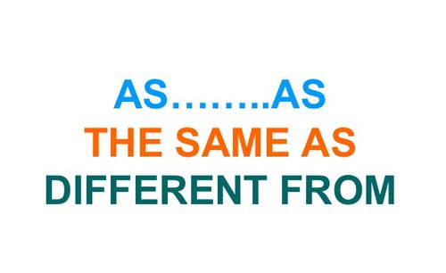 Cấu trúc so sánh ngang bằng trong tiếng Anh