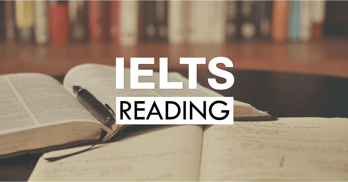 Phần thi Reading