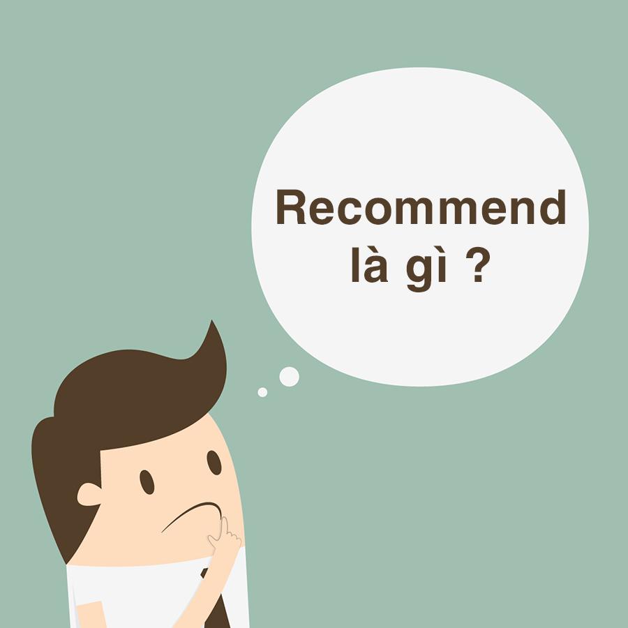 Cách dùng Recommend trong tiếng Anh