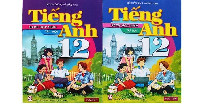 Sách tiếng Anh 12 thí điểm học sinh
