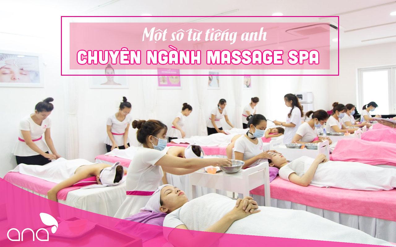 từ vựng tiếng Anh chuyên ngành Spa, massage
