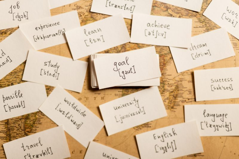 Những từ vựng thường gặp trong IELTS - cách học từ mới hiệu quả