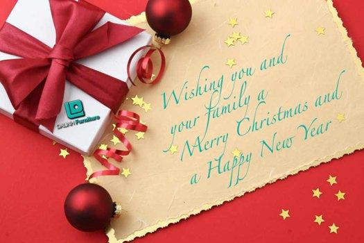 Mẫu thư chúc mừng giáng sinh bằng tiếng Anh