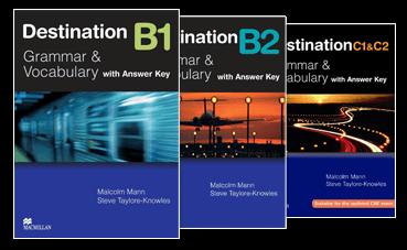 Link tải trọn bộ sách Destination B1, B2, C1 + C2