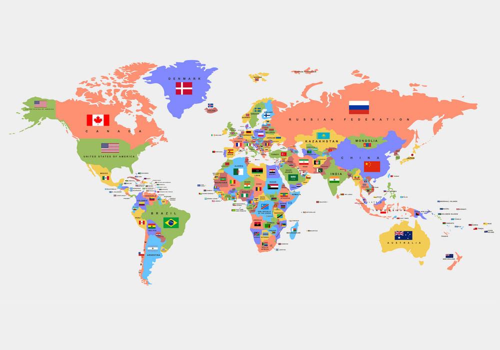 Tên các nước bằng tiếng Anh