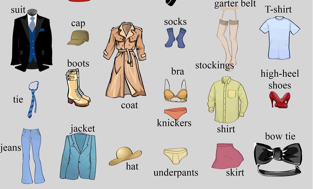 Từ vựng tiếng Anh chuyên ngành thiết kế thời trang