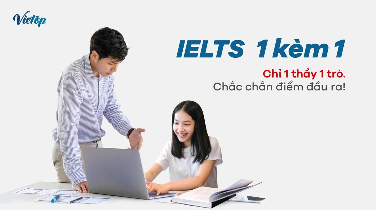 Khóa học luyện thi IELTS 1 kèm 1