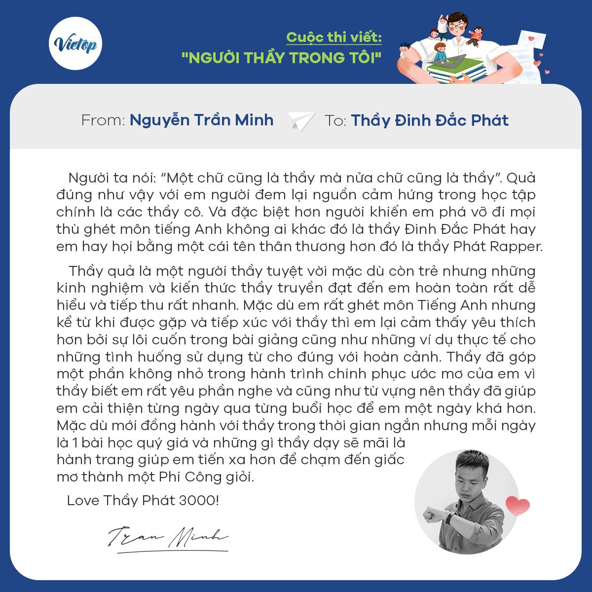 Review khóa học IELTS từ học viên Vietop
