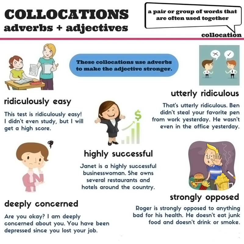 Cách kết hợp từ thành Collocation