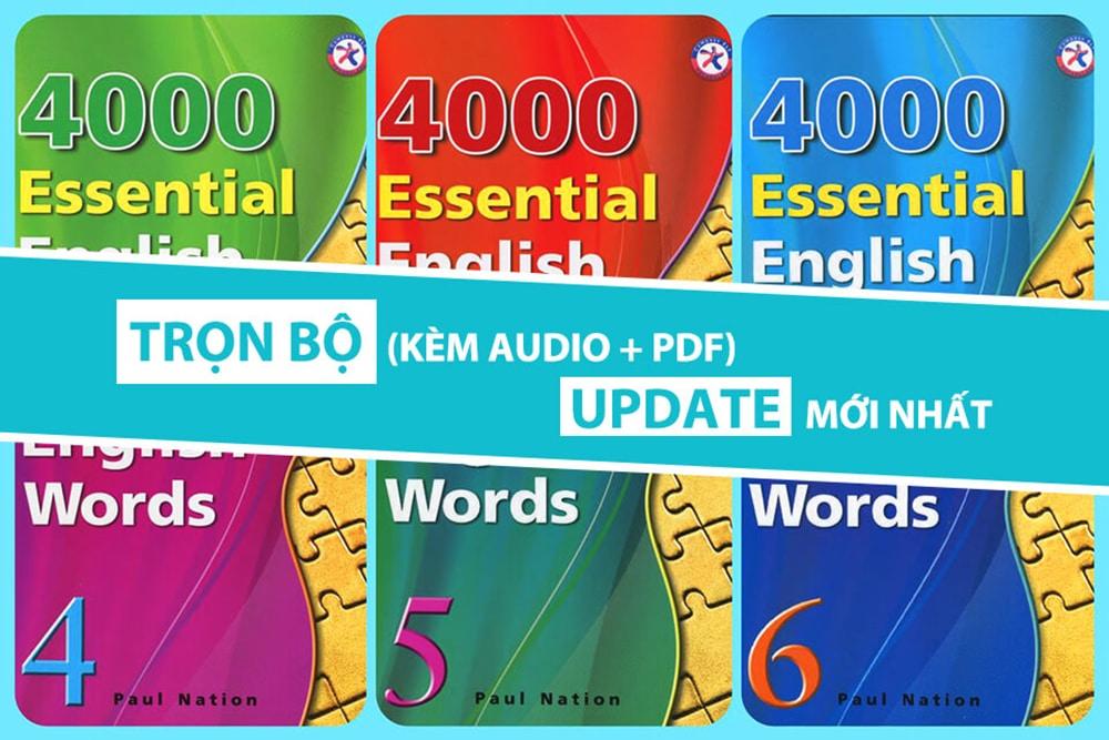 Tải pdf 4000 từ vựng tiếng Anh thông dụng nhất miễn phí