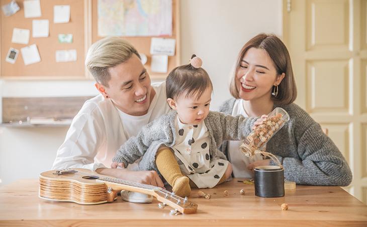 Gia đình gồm vợ chồng và con riêng của vợ/chồng (blended family)