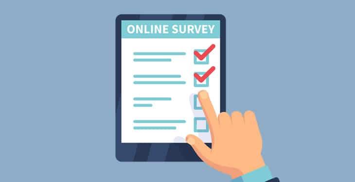 Làm khảo sát trực tuyến (Online surveys)